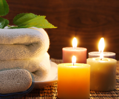 All things delish summer bubble baths salts and candles for Spa smelling candles